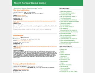 koreandrama.tv screenshot