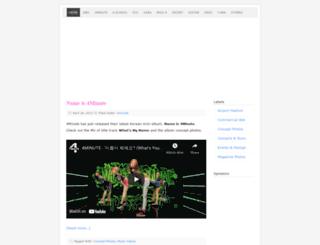 koreangirlsgroup.com screenshot