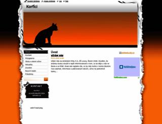 korfici.webnode.cz screenshot