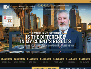 kornberglawfirm.com screenshot