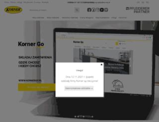 korner.pl screenshot