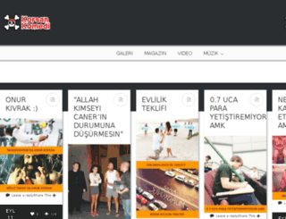 korsankomedi.com screenshot