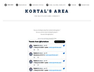 kortal.org screenshot