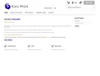 koruworx.co.za screenshot