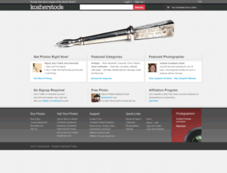 kosherstock.com screenshot