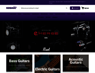 kosmic.com.au screenshot