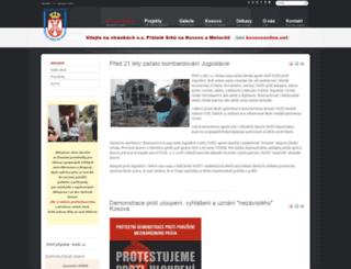 kosovoonline.cz screenshot