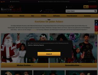 kostuempalast.de screenshot