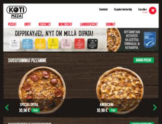 kotipizza-roihuvuori.fi screenshot