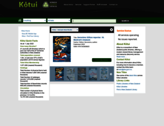 kotui.org.nz screenshot