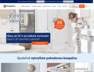 koupelny-ptacek.cz screenshot