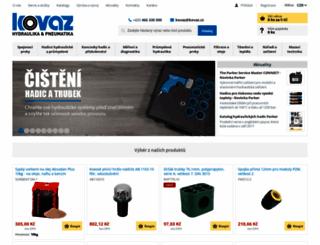 kovaz.cz screenshot