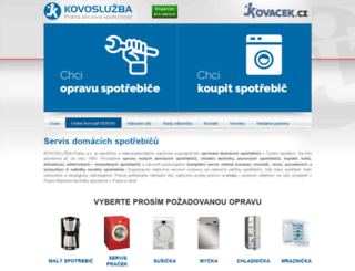 kovosluzba-praha.cz screenshot