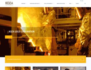 kozaaltin.com.tr screenshot