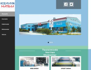 kozamatbaa.net screenshot