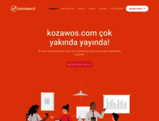 kozawos.com screenshot