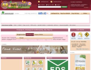 kozjegyzo.tlap.hu screenshot