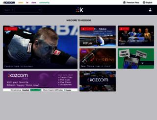 kozoom.com screenshot