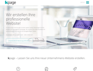 kpage.de screenshot