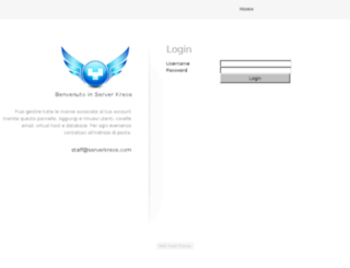 kpanel-vps.serverkreos.net screenshot