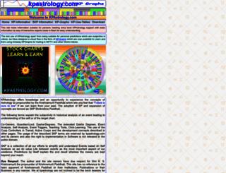 kpastrology.com screenshot