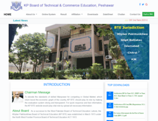 kpbte.edu.pk screenshot