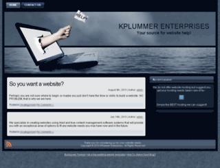 kplummerenterprises.com screenshot