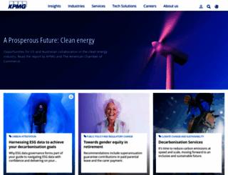 kpmg.com.au screenshot