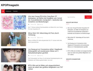 kpopmagazin.de screenshot