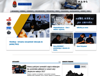 kppotwock.policja.waw.pl screenshot