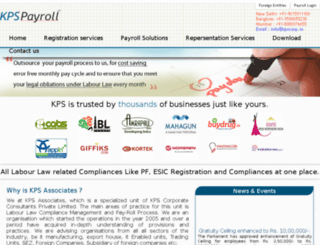 kpspayroll.com screenshot