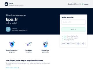 kpx.fr screenshot