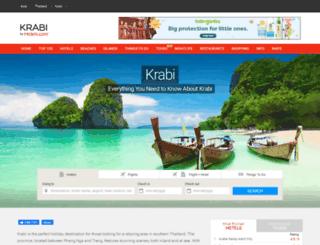 krabi-hotels.com screenshot