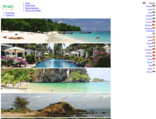 krabi.info screenshot