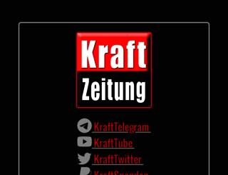 kraftzeitung.net screenshot