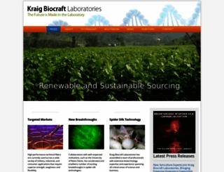kraiglabs.com screenshot