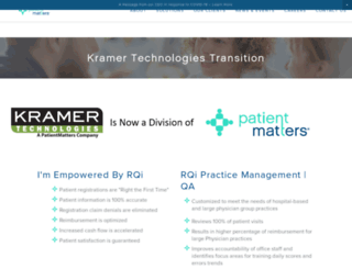 kramergroup.com screenshot
