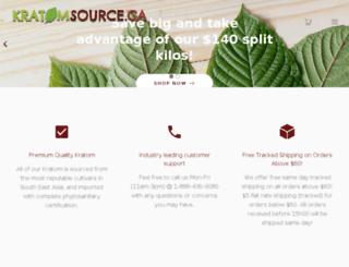 kratomsource.ca screenshot