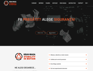 krav-maga.ro screenshot
