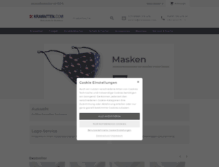 krawatten.com screenshot