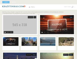 krazytinkas.com screenshot