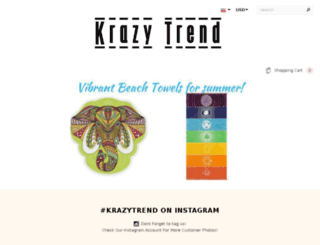 krazytrend.com screenshot