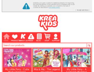 kreakids.com screenshot