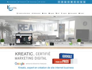 kreatic.com screenshot