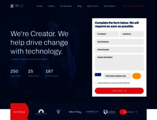 kreativewebtech.com screenshot