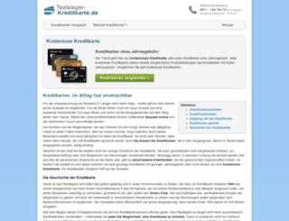 kreditkartekostenlos.com screenshot