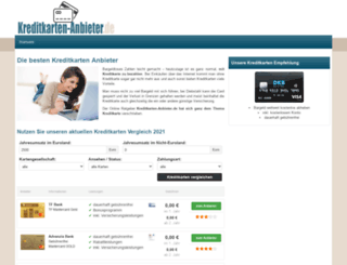 kreditkarten-anbieter.de screenshot
