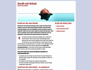 kredittrotzschufa.net screenshot