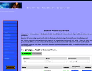 kreditweb.at screenshot