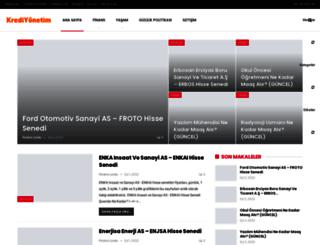 krediyonetim.com screenshot